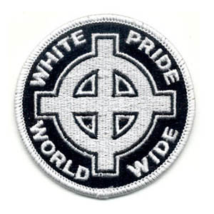 White Pride World Wide Patch